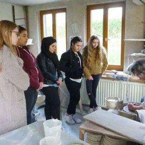 Exkursion WPB Keramik Jahrgang 10