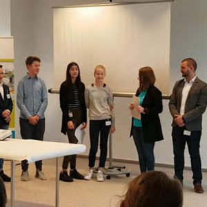 1. Platz beim Projekt der Hübner GmbH