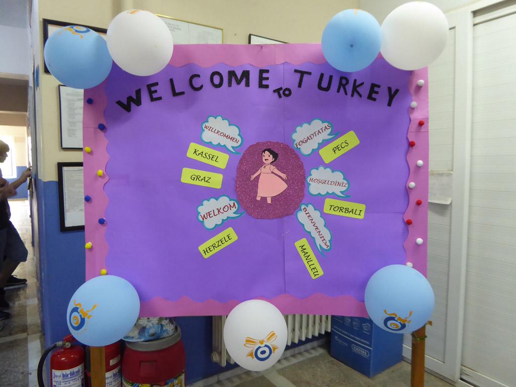 Projekttreffen Izmir, Türkei