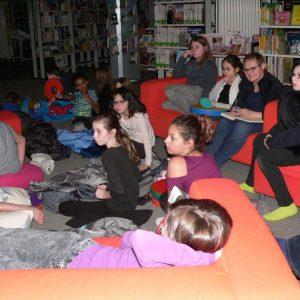 Lesenacht 2017 in der Stadtteil- und Schulbibliothek Waldau